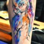 tattoo buho tatuajes nueva escuela 8 150x150