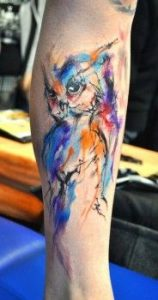 tattoo buho tatuajes nueva escuela 8 158x300