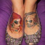 tatuaje catrina color tattoo 1 150x150
