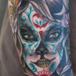 tatuaje catrina color tattoo 2 150x150