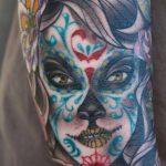 tatuaje catrina color tattoo 2 150x150