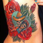 tatuaje catrina color tattoo 4 150x150