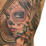 tatuaje catrina color tattoo 7 150x150