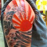 tatuaje sol japones 3 150x150