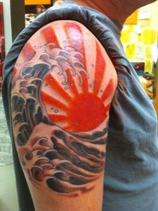 tatuaje sol japones 3 224x300