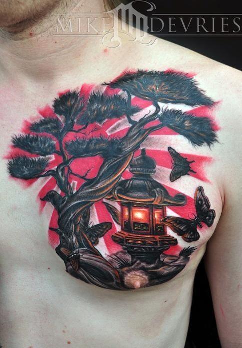 tatuaje sol japones 4 - tatuajes del sol