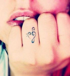 tatuaje sol nota musical 1 276x300