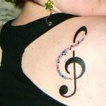 tatuaje sol nota musical 3 150x150