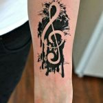 tatuaje sol nota musical 5 150x150