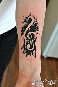 tatuaje sol nota musical 5 200x300