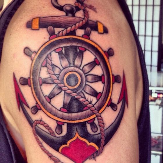tatuajes anclas diseños 8 - tatuajes de anclas