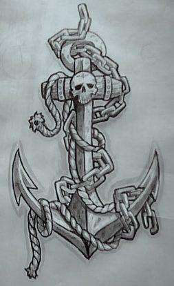 67 tatuajes de anclas y sus significados tatuajes geniales On diseños de anclas