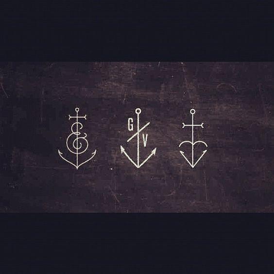 tatuajes anclas imagenes bocetos 7 - tatuajes de anclas