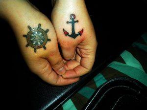 tatuajes anclas parejas 5 300x225