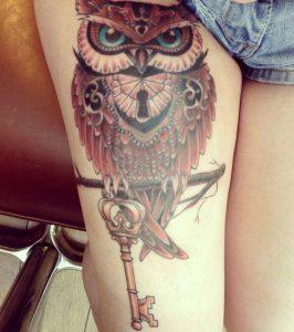 tatuajes buhos para mujeres 1 266x300