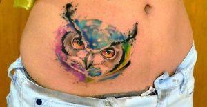 tatuajes buhos para mujeres 7 300x155
