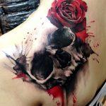 tatuajes calaveras con rosas 4 150x150