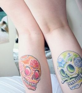 tatuajes calaveras mexicanas tattoo 3 266x300