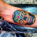 tatuajes calaveras mexicanas tattoo 5 150x150
