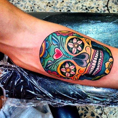 tatuajes calaveras mexicanas tattoo 5 - calaveras mexicanas