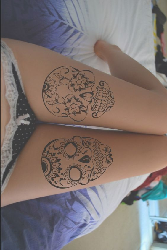 tatuajes calaveras mexicanas tattoo 8 - calaveras mexicanas