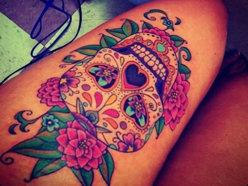 tatuajes calaveras mexicanas tattoo 9 - calaveras mexicanas