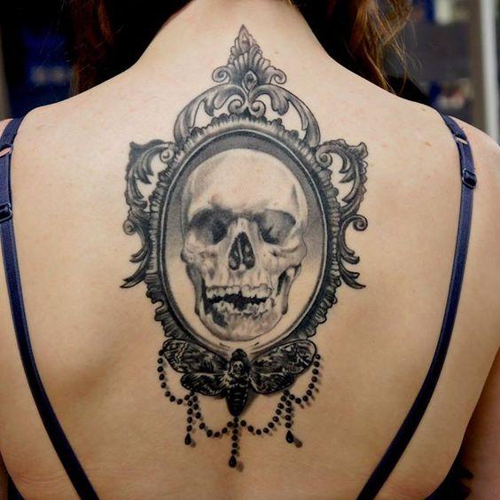 Ideas Exclusivas De Tatuajes De Calaveras Y Craneos Tatuajes Geniales