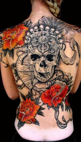tatuajes calaveras para mujeres 3 150x150