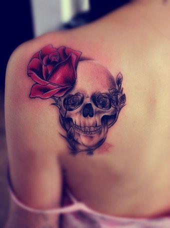 tatuajes calaveras para mujeres 7