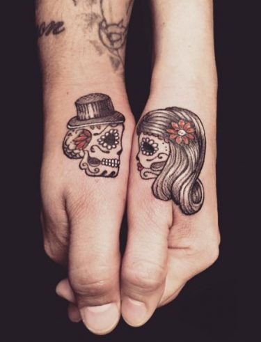 im genes de tatuajes de calaveras y cr neos significados tatuajes geniales. Black Bedroom Furniture Sets. Home Design Ideas