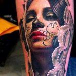 tatuajes catrinas brazo tattoo 2 150x150