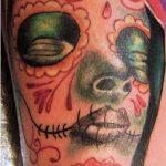 tatuajes catrinas brazo tattoo 4 150x150