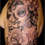 tatuajes catrinas brazo tattoo 6 150x150