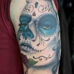 tatuajes catrinas brazo tattoo 7 150x150