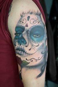 tatuajes catrinas brazo tattoo 7 200x300