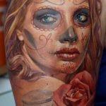 tatuajes catrinas brazo tattoo 8 150x150