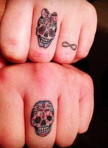 tatuajes catrinas pareja tattoo 2 219x300