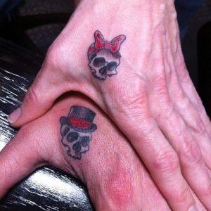 tatuajes catrinas pareja tattoo 5 300x300