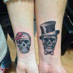 tatuajes catrinas pareja tattoo 6 150x150