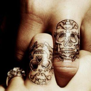 tatuajes catrinas pareja tattoo 7 300x300