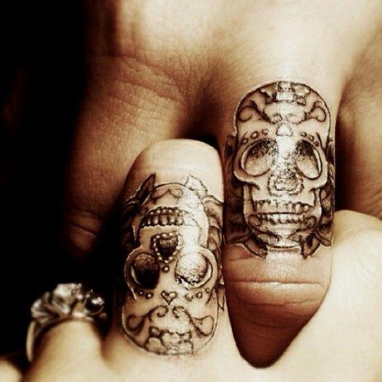 tatuajes catrinas pareja tattoo 7 - calaveras mexicanas