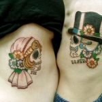 tatuajes catrinas pareja tattoo 8 150x150