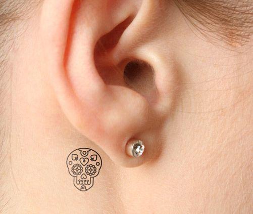 tatuajes catrinas pequeños 1 - tatuajes de catrinas