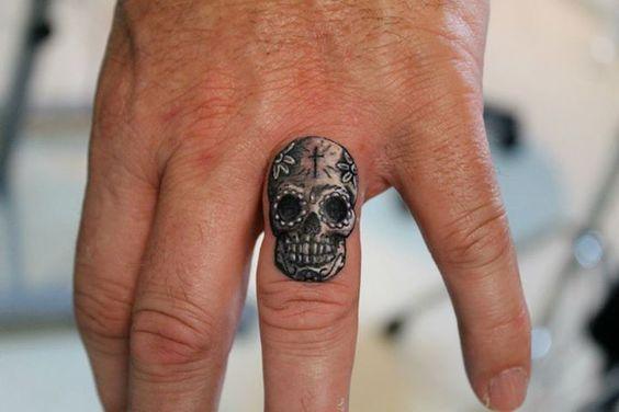 tatuajes catrinas pequeños 3 - tatuajes de catrinas