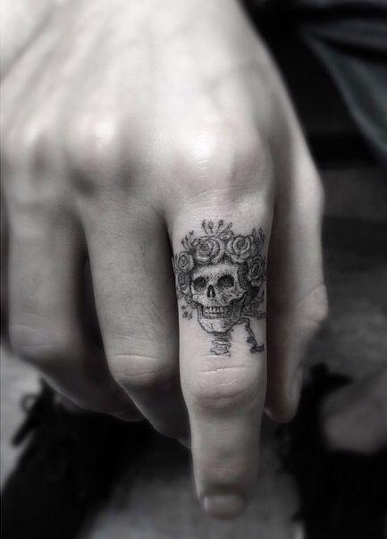 tatuajes catrinas pequeños 5 - tatuajes de catrinas