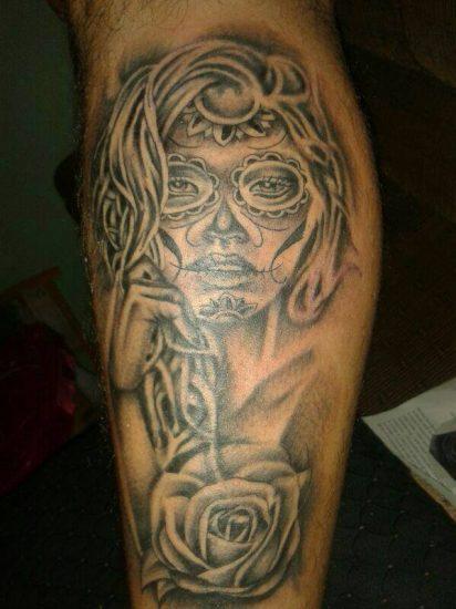 tatuajes-catrinas-pierna-tattoo-7