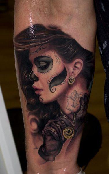 tatuajes-catrinas-pierna-tattoo-9