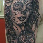 tatuajes catrinas rosas tattoo 1 150x150