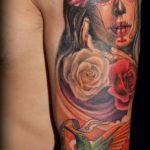 tatuajes catrinas rosas tattoo 2 150x150
