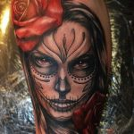 tatuajes catrinas rosas tattoo 4 150x150